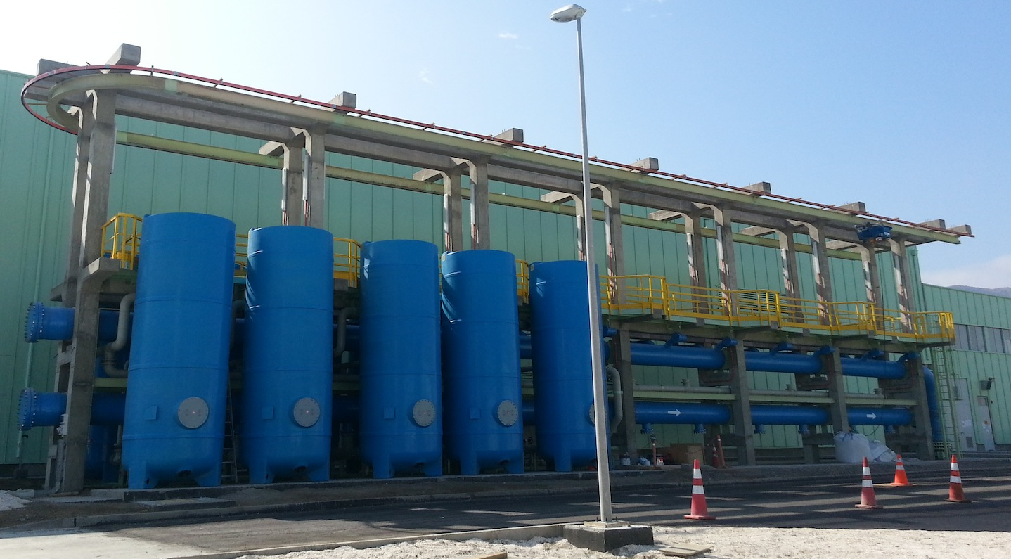 DrinTec™ limestone contactors in FRP tanks - The Water