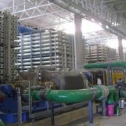 Tables for supervision of SWRO desalination plants