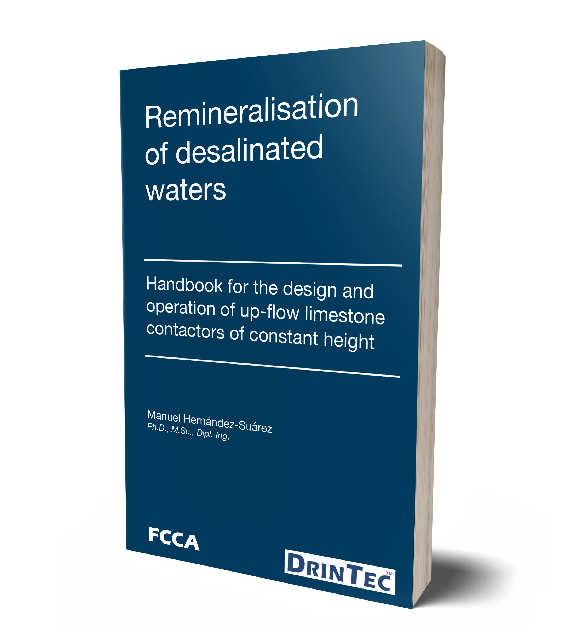 New book Remineralisation of desalinated waters DrinTec